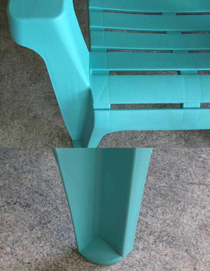 adirondack chair gartenstuhl kunststoff gartensessel stapelstuhl blau ebay. Black Bedroom Furniture Sets. Home Design Ideas