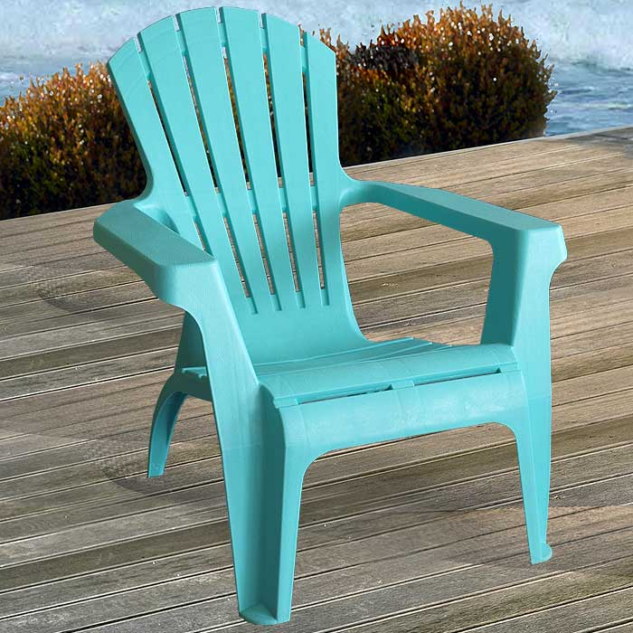 4 st ck adirondack chair gartenstuhl kunststoff gartensessel stapelstuhl blau ebay. Black Bedroom Furniture Sets. Home Design Ideas