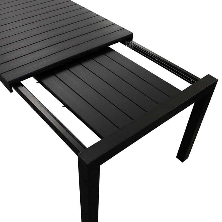 xxl gartentisch ausziehtisch polywood 224 284 344x100cm 12 pers terrassentisch ebay. Black Bedroom Furniture Sets. Home Design Ideas